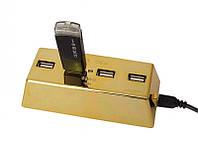 Слиток золота USB hub, фото 1
