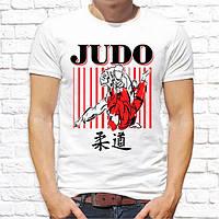 """Чоловіча футболка Push IT з принтом """"Judo"""""""