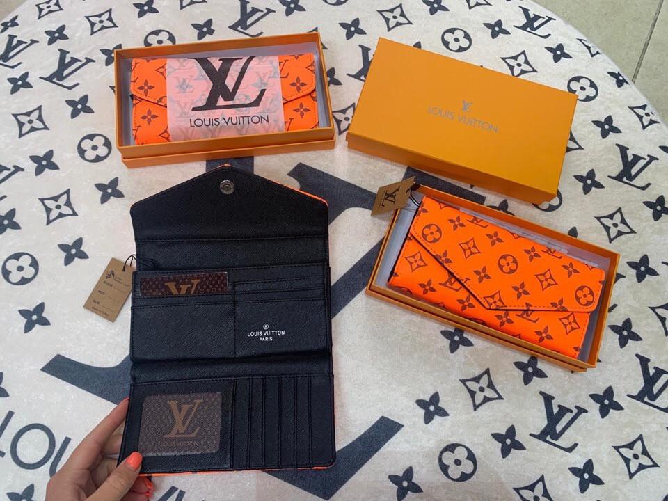Кошелёк LV оранжевый