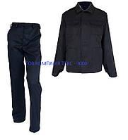Костюм рабочий «Мастер» (штаны+куртка), темно-синий., фото 1