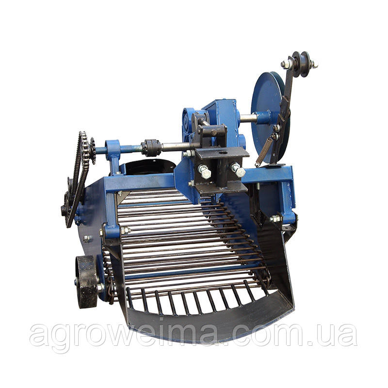 Картофлекопатель вибрационный транспортерный под мототрактор з гидравликой(Скаут)