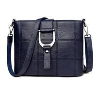 Женская сумка Saiten D1002 с ремнем на плечо Синий (hub_np2_1417)