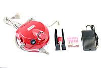 Фрезер для маникюра и педикюра Nail Master DM-202 25000 оборотов 30 Вт Red (hub_np2_1541)