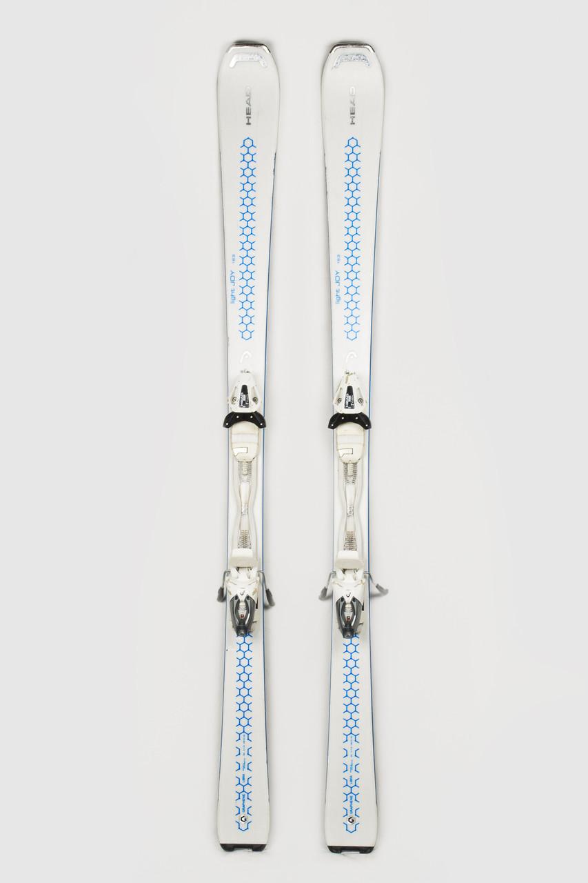 Гірські лижі Head Light Joy 163 White-Blue Б/У