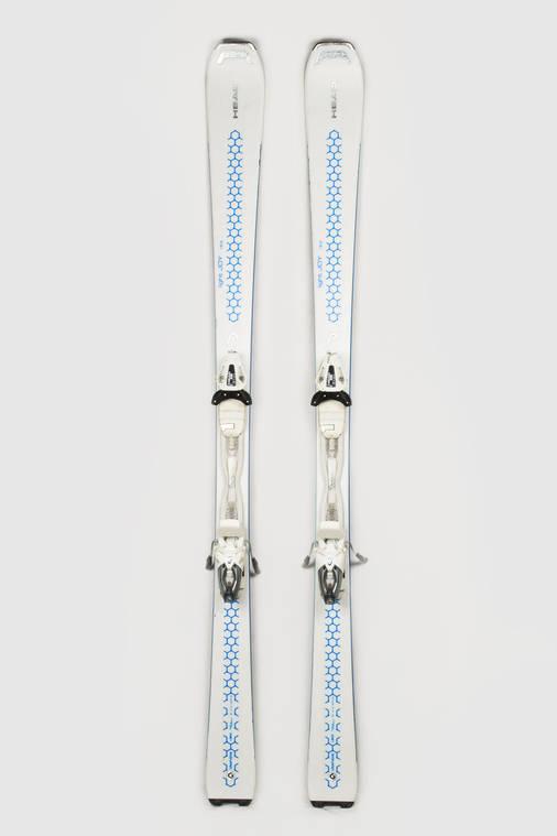 Гірські лижі Head Light Joy 163 White-Blue Б/У, фото 2