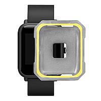 Защитный чехол BeWatch для Xiaomi Amazfit BIP Серо-желтый (1011846), фото 1