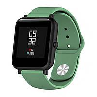 Ремешок BeWatch силиконовый для Xiaomi Amazfit Bip Зеленый (1010306), фото 1