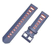 Ремешок BeColor силиконовый для Samsung Gear S3 Cине-Красный (1021953)