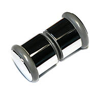 Ручка для стеклянных дверей душевой кабины и гидромассажных боксов ручки для душевых кабин Rolli H07 хром 1шт