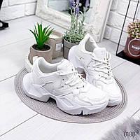 Кроссовки женские Brows белые , женская обувь