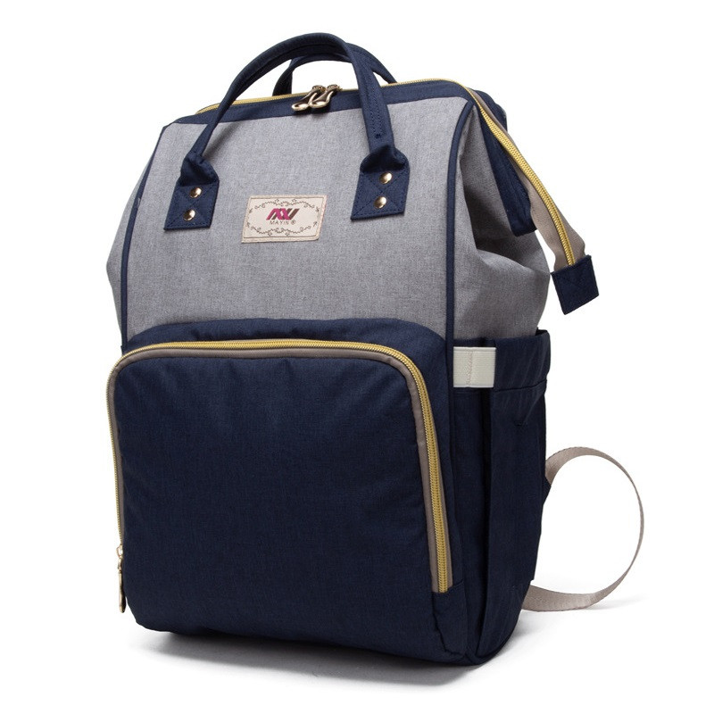 Женский рюкзак-сумка для мам Mayin с тремя термоизолированными карманами, облегченная (550г), 20л