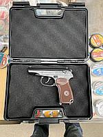Пневматический пистолет Пистолет Макарова ПМ  - Набор  + 5 баллонов + 500шт. шариков
