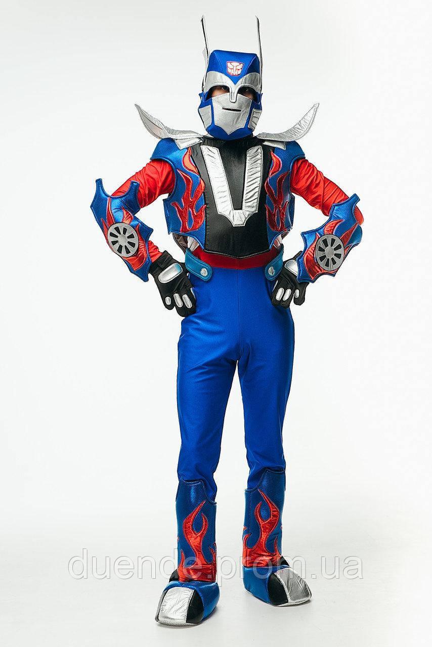 Трансформер Оптимус Прайм карнавальный мужской костюм / размер универсальный / BL - ВМ271 BL - ВМ271