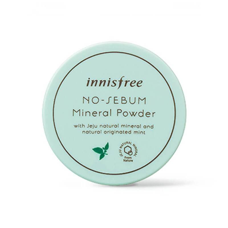 Рассыпчатая матирующая прозрачная пудра Innisfree No-Sebum Mineral Powder (5g)