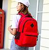 Рюкзак городской Aspen Sport с выходом для гаджетов Красный, фото 3