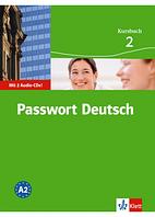 Passwort Deutsch 2 Kursbuch mit Audio CD