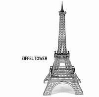 Металлический 3D конструктор Эйфелейвая башня