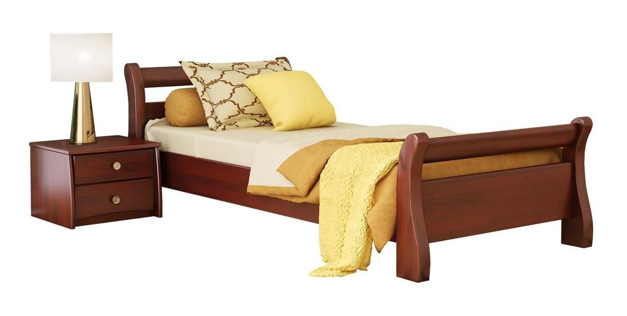 Ліжко Діана 80х190 Бук Щит 104 (Естелла-ТМ)