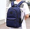 Рюкзак городской молодежный Aspen Sport Синий, фото 4