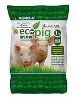 Премикс для Поросят, Свиней Ecopig-U Универсальный 3/2% - ТМ Агро-В - Оригинал
