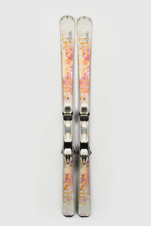 Гірські лижі Volkl Viola 162 Б/У, фото 2