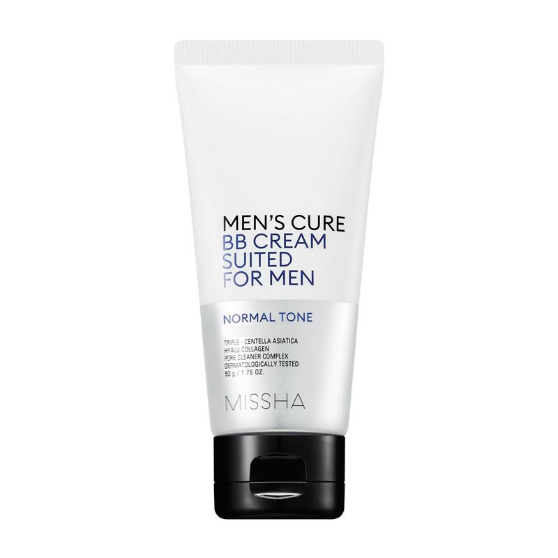 BB крем для мужской кожи лица Missha Men's Cure BB Cream Suited For Men Normal Tone 50 г (8809581460256)