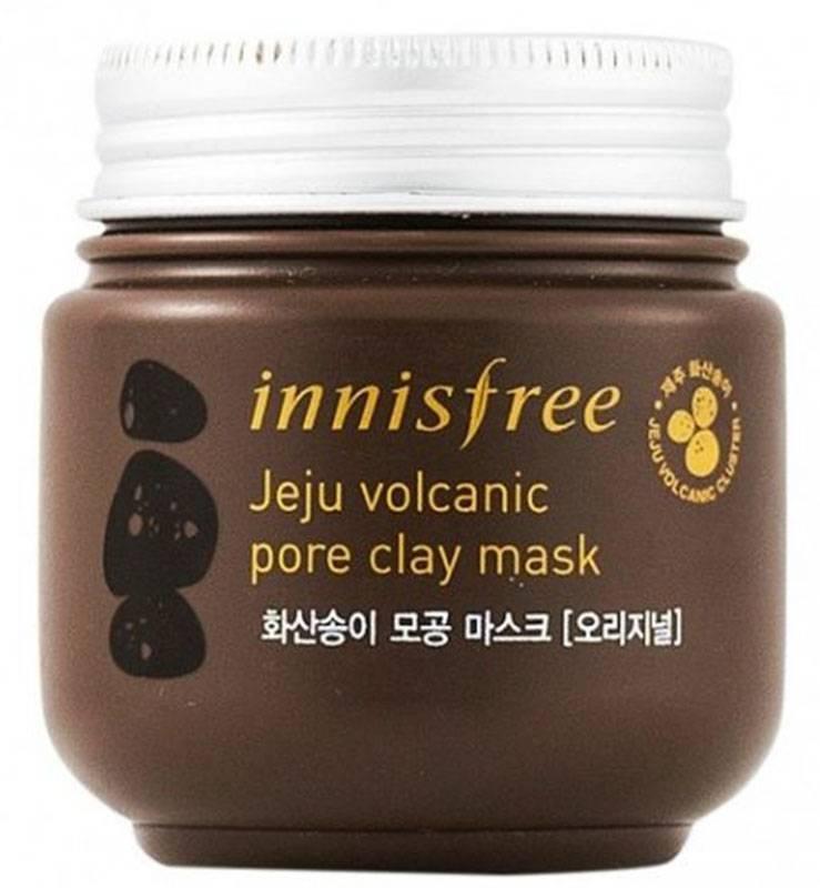 Очищающая вулканическая маска Innisfree Jeju Volcanic Pore Clay mask (100ml)