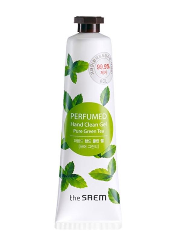 Парфюмированный антисептик для рук The Saem Perfumed Hand Clean Gel Pure Green Tea, 30 мл