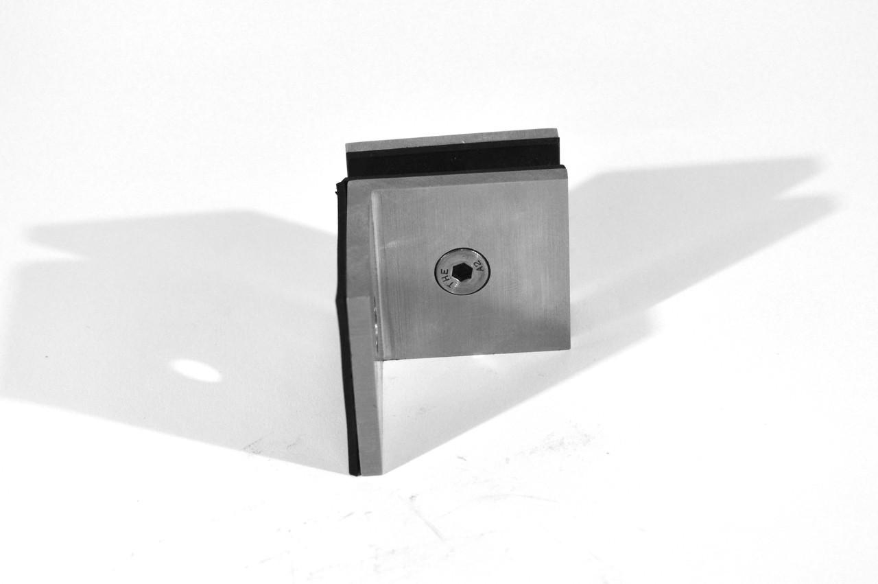 ODF-01-20-01 крепление стекла к стене 90 градусов с полкой