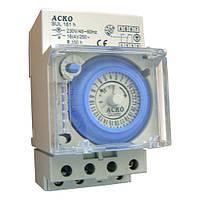 Таймер суточный электромеханический АСКО-УКРЕМ SUL-181h 16А