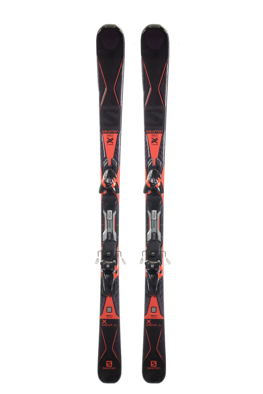 Гірські лижі Salomon X Drive 156 Black-Red Б/У