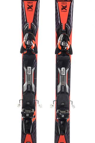 Гірські лижі Salomon X Drive 156 Black-Red Б/У, фото 3