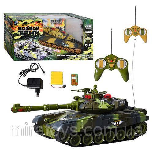 ✅Бойовий танк на радіокеруванні 9993. Два кольори