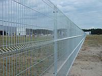 Забор  Металлический Секция ограждения Стандарт (оцинкованная) 1,55м х 2,5м