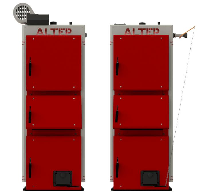 Котел твердотопливный Альтеп DUO UNI PLUS 33 кВт