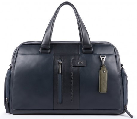 Дорожная сумка Piquadro bv4447ub00 blu, кожаная, 31л