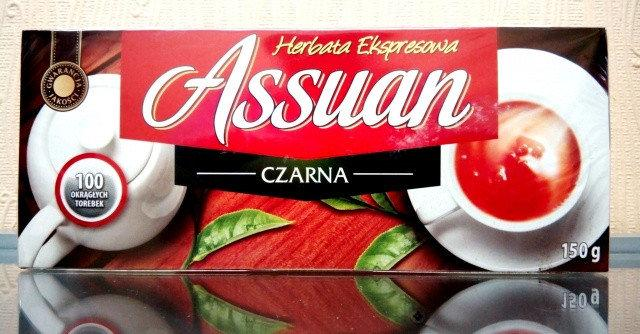 Чай черный Assuan  100 пакетиков  Польша 150г