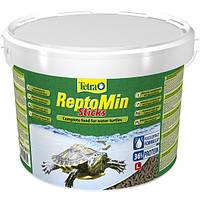 Tetra ReptoMin основной корм для водных черепах 10л