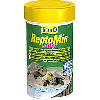 Tetra ReptoMin Baby корм для молодых водных черепах 100мл
