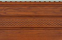 Сайдинг потолочный  соффит  с перфорацией  VOX 3,0 х 0,3м  Золотой Дуб