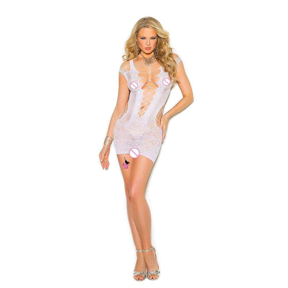 """Сексуальное сетчатое платье """"Джина""""15218 для Вашей фигурки"""