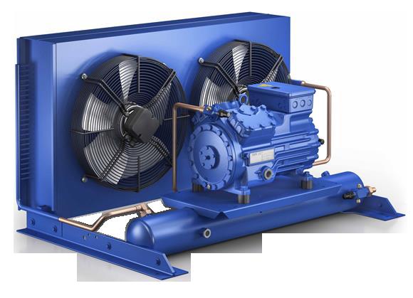 Холодильный агрегат ECU-HGX215S-KFL17-R12