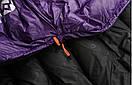 Пуховый спальный мешок AEGISMAX NANO +10°С +5°С. Размер M. Пуховий спальний мішок кокон nano., фото 9