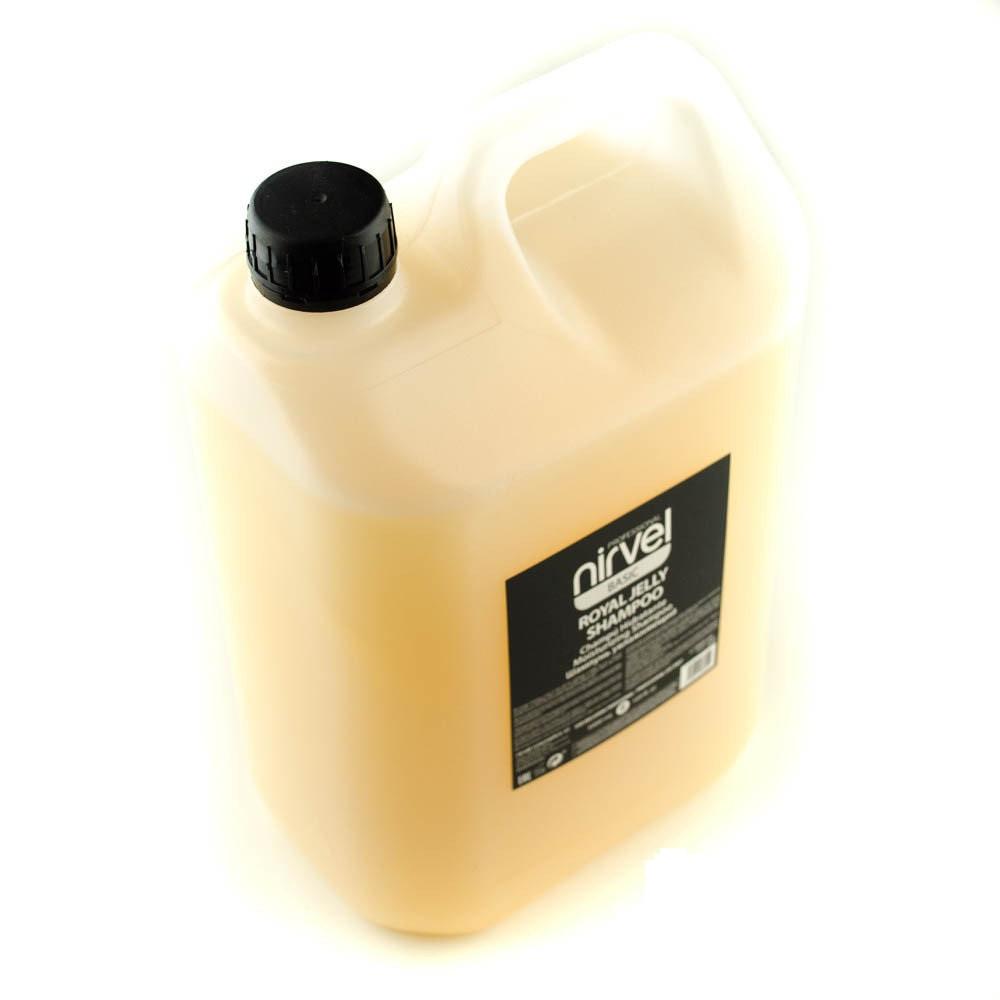 Шампунь увлажняющий с пчелиным маточным молочком для поврежденных волос Nirvel royal jelly shampoo 5000мл 6609