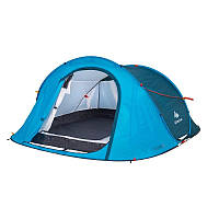 Палатка-автомат 2 SECONDS EASY 3 QUECHUA, трёхместная самораскладная.