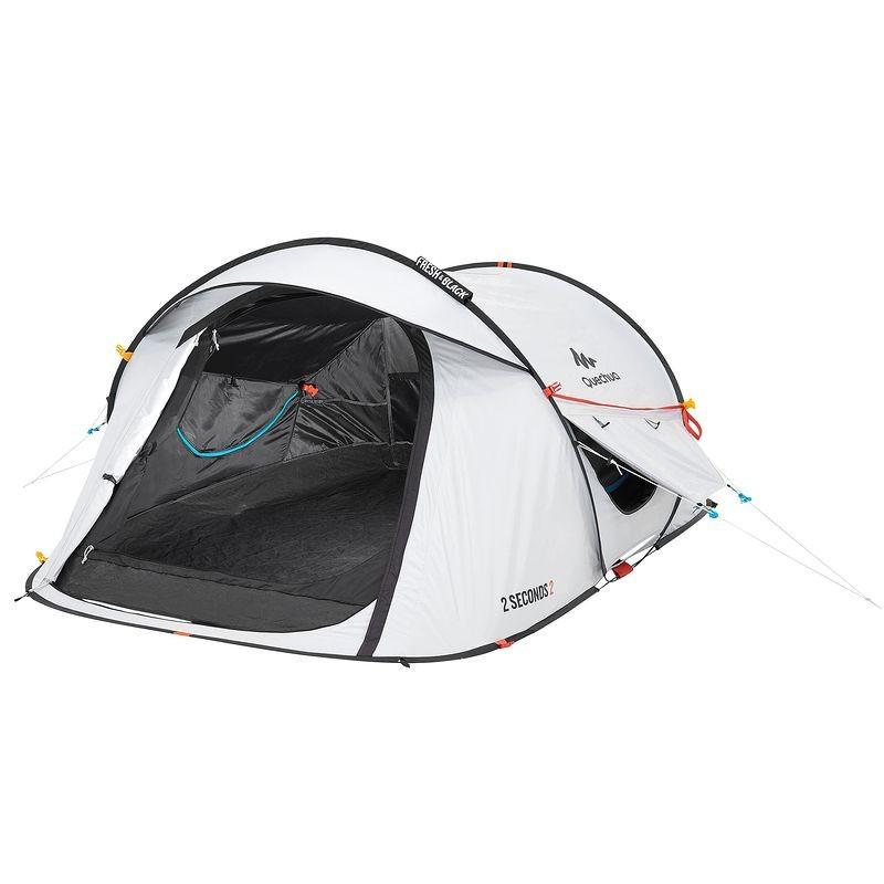 Палатка 2 SECONDS EASY 2 FRESH&BLACK QUECHUA, двухместная