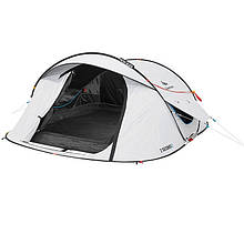 Палатка 2 SECONDS EASY 3 FRESH&BLACK Quechua. Самораскладная, трёхместная