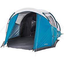 Палатка  ARPENAZ 4.1 FRESH&BLACK QUECHUA , четырёхместная с тамбуром