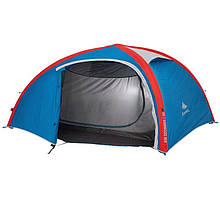Палатка двуместная AIR Sekonds 2XL QUECHUA c надувным каркасом)