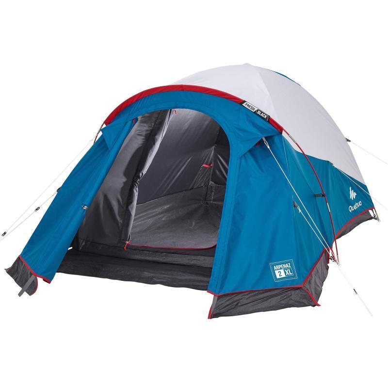 Палатка ARPENAZ 2 XL FRESH & BLACK,   двухместная. QUECHUA